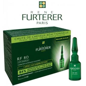Rene Furterer Rf 80 Concentrated Serum 12 Ampoules