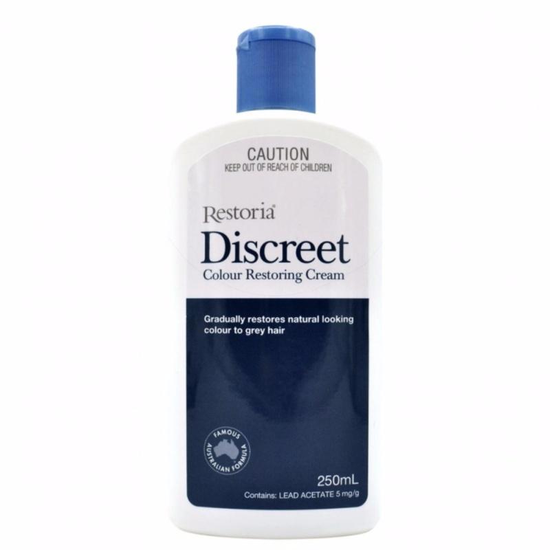 Buy Restoria Discreet Hair Colour Natural Restoring Cream 250ml Singapore