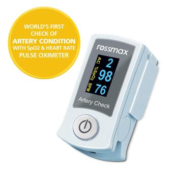 "ROSSMAX Fingertip Pulse Oximeter with ""ACT"", SB200"