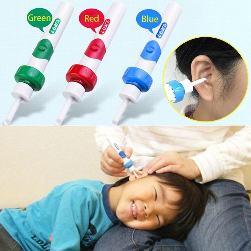 Buy Safety Electric Pocket Ear Spoon Suck Earwax Cleaners Tool For Battery - intl Singapore