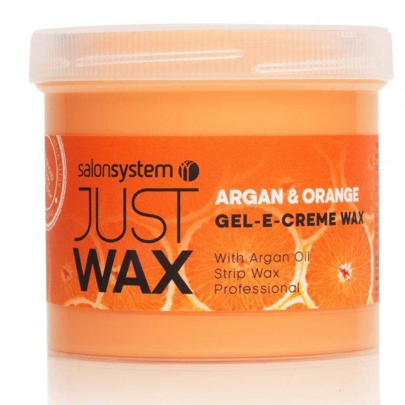Buy Salon System Just Wax Gel-E-Creme Argan and Orange Wax - 425g Singapore