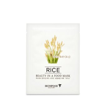 Harga Skinfood Beauty in a Food Mask Sheet, Rice 20ml