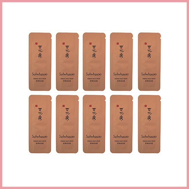 Buy Sulwhasoo Firming Neck Cream Sample 20ea (20g)/TTBeauty/Korea Cosmetics Singapore