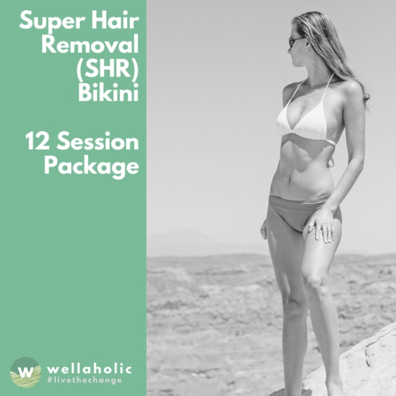 Buy Super Hair Removal (Bikini) - 12 Session Package Singapore