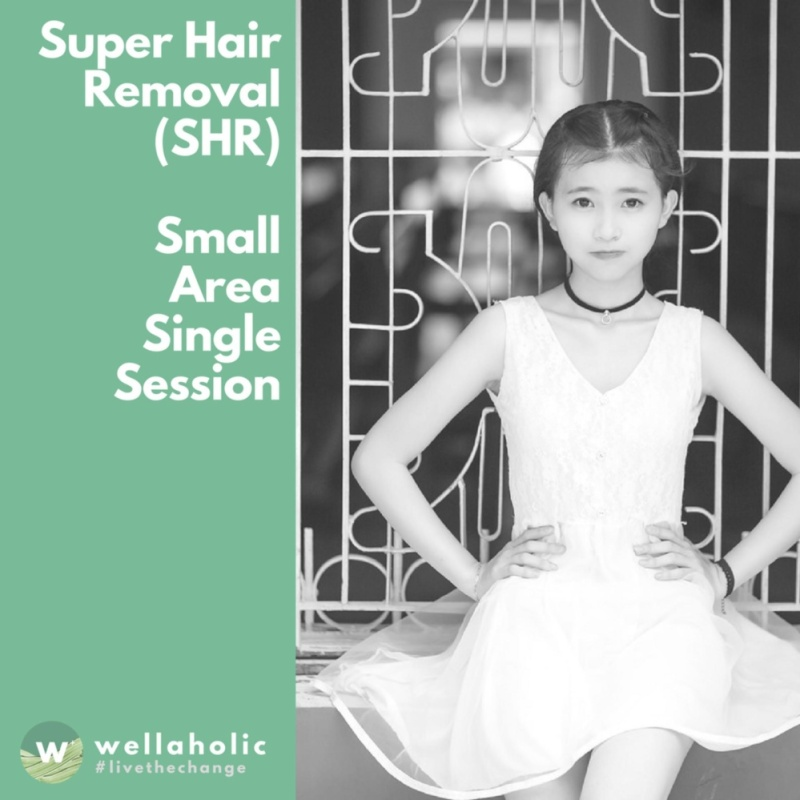 Buy Super Hair Removal (Small Area) - Single Session Singapore
