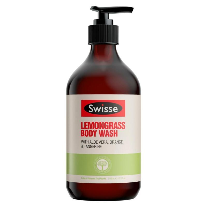 Buy Swisse Lemongrass Body Wash 500 mL Singapore
