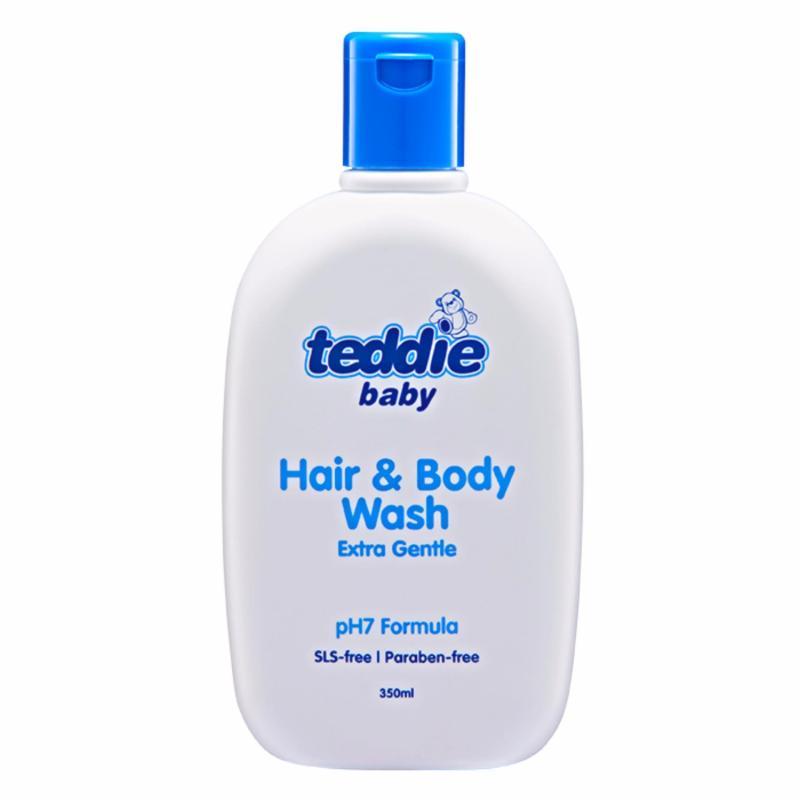 Buy Teddie® Baby Milk Hair n Body Wash 350ml (2 bottles) Singapore