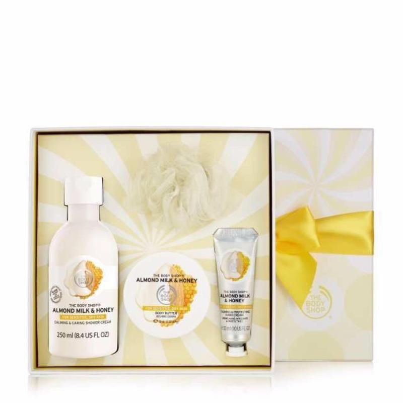 Buy The Body Shop Almond Milk & Honey Festive Picks Singapore