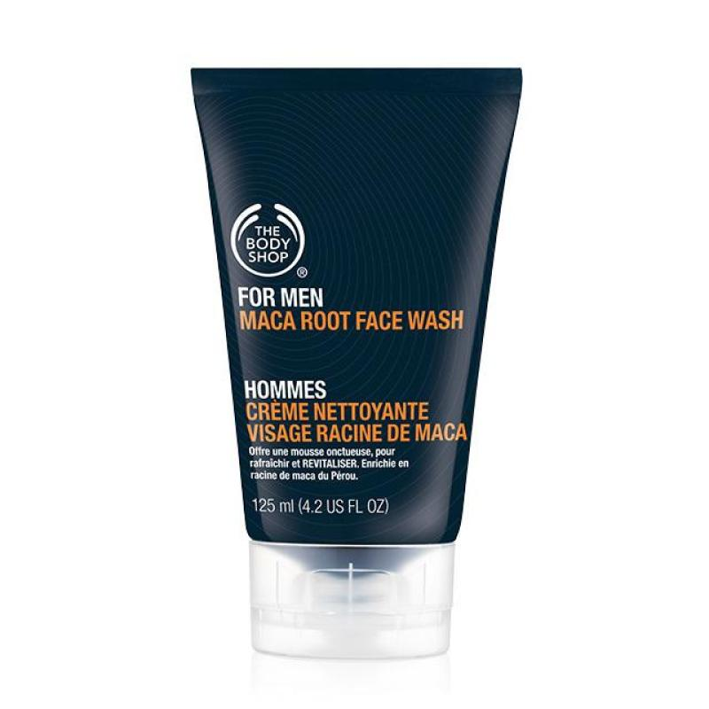Buy The Body Shop For Men Maca Root Face Wash (125ML) Singapore