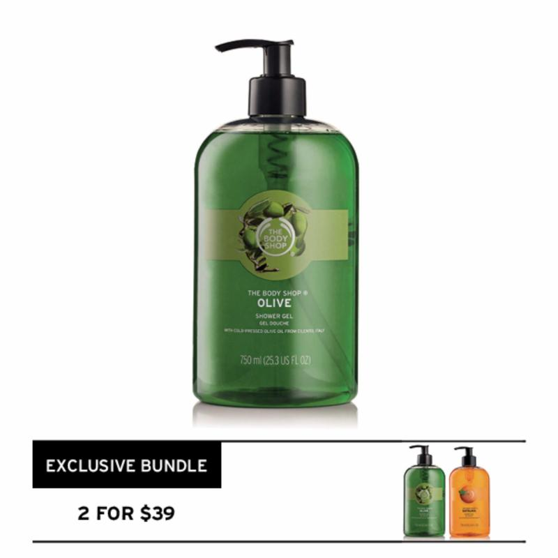 Buy The Body Shop Olive Shower Gel (750ML) Singapore