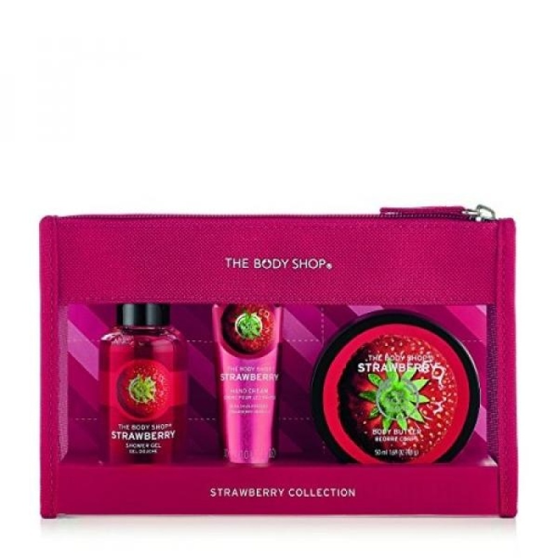 Buy The Body Shop Strawberry Beauty Bag - intl Singapore