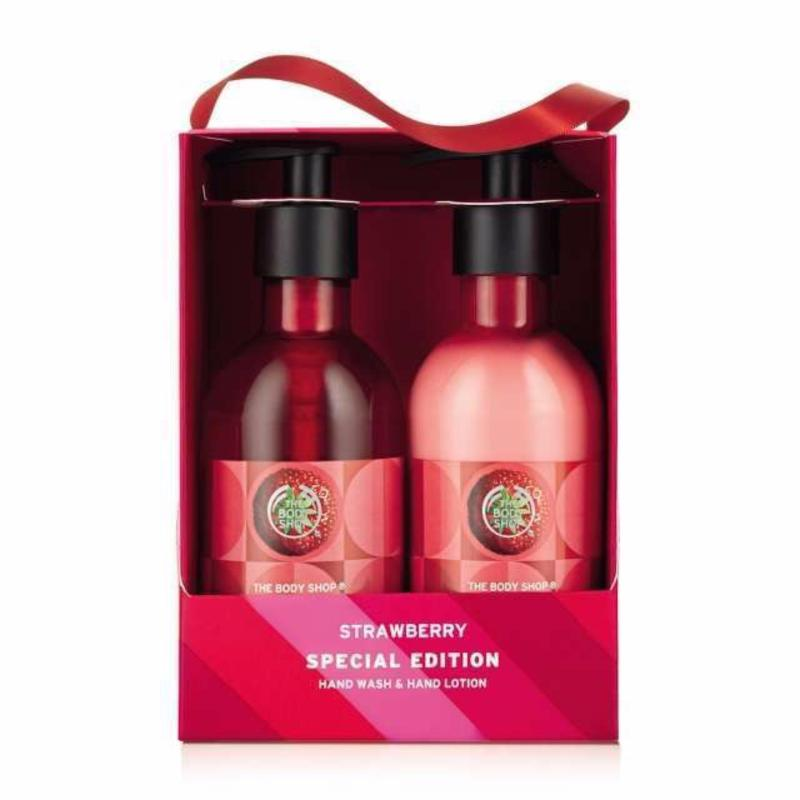 Buy The Body Shop Strawberry Hand Duo Gift Set Singapore