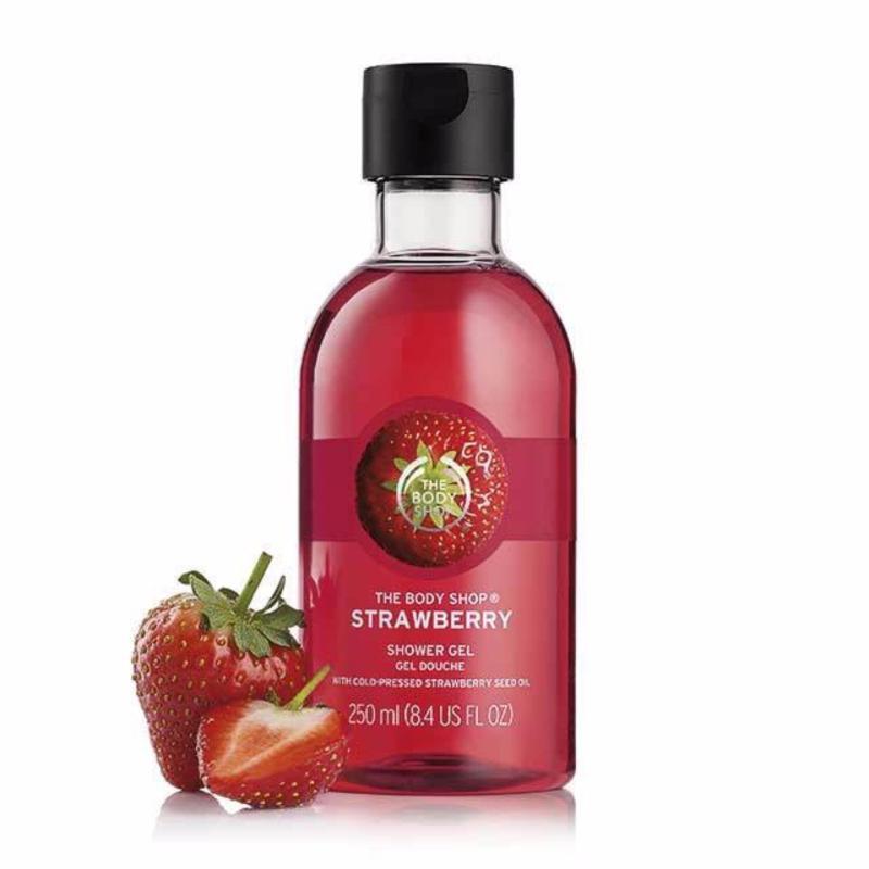 Buy The Body Shop Strawberry Shower Gel (250ML) Singapore