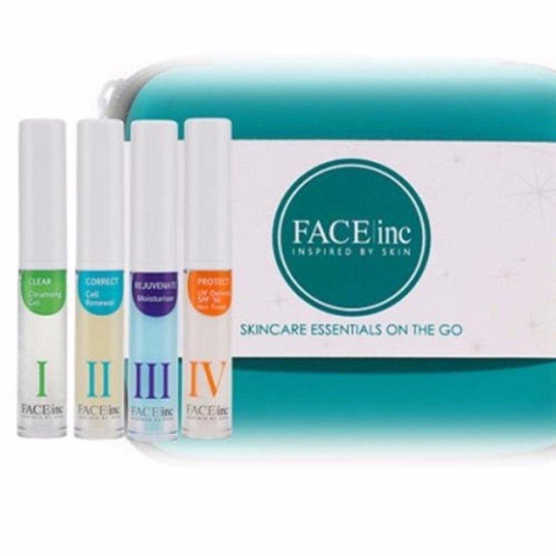 Buy The Face Inc Travel Kit Basic(S:4pc C:) Singapore
