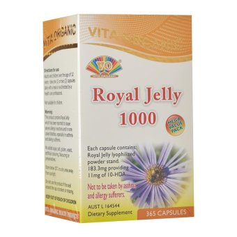 Vita Organic Royal Jelly 1000Mg Supplement