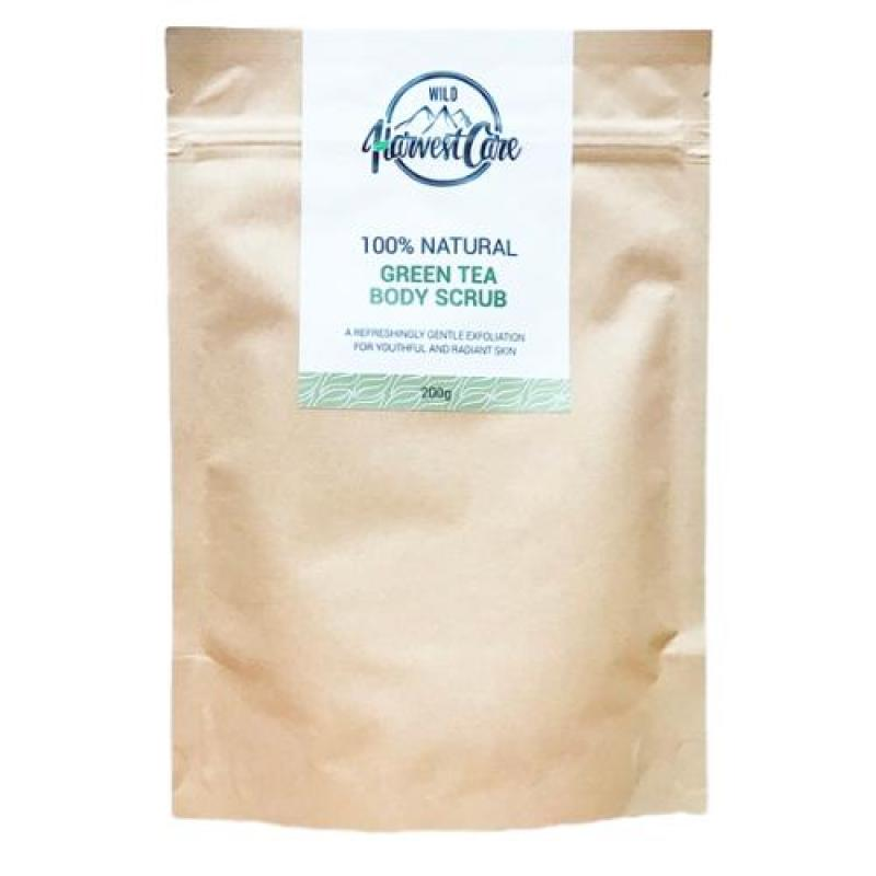 Buy Wild Harvest Care 100% Natural Green Tea Body Scrub Singapore