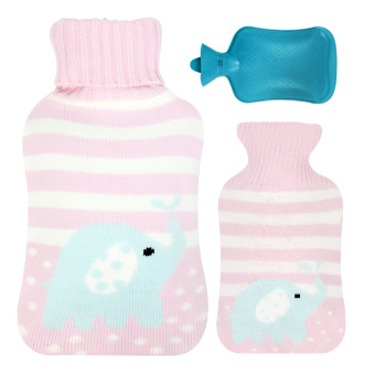 Wing word Parent and Child water large hot water bottle hot water bag