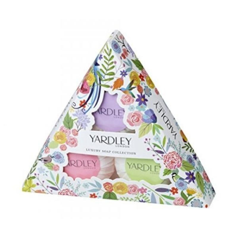 Buy Yardley Of London Luxury Soap Collection 3 Piece Gift Set for Women - intl Singapore
