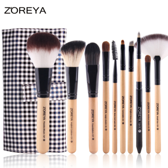 Zhuoer ya makeup beauty beginner's eye shadow brush set brush
