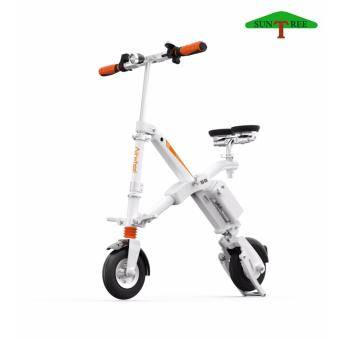 AIRWHEEL E6 ELECTRIC SCOOTER, ELECTRIC SCOOTER WITH SEAT(white)