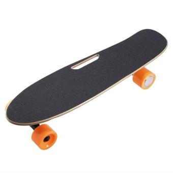 Allwin 4 Wheel Electric Skateboard Single Driver Motor Remote Control Longboard - intl