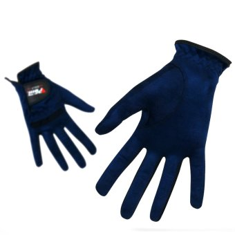 Anti-skid breathable women's Golf Gloves (Blue+19yards) - 2
