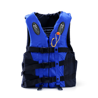 Harga Bao Youcheng people children's professional swimming life jacketdrifting snorkeling fishing clothes buoyancy vest to send whistlecross Belt