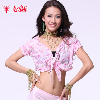 Feimei belly dance Top short-sleeved New style belly dance Top