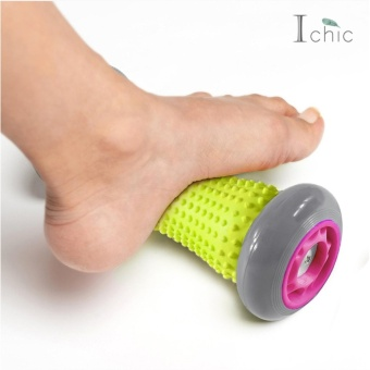 Ichic Foot Wrist Body Massage Roller Muscle Stress Pain Relief - intl