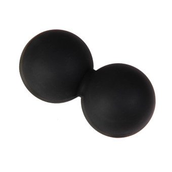 Harga Double Lacrosse Ball Mobility Myofascial Trigger Point Massage Ball Gym Physio Black(EXPORT)