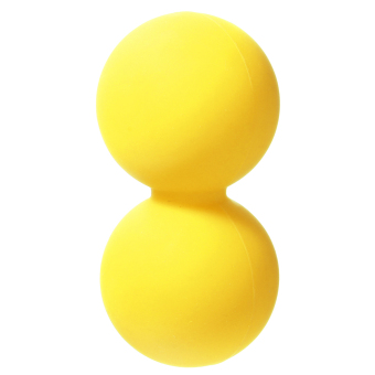 Harga Double Lacrosse Ball Mobility Myofascial Trigger Point Release Massage Exercise Yellow - Intl