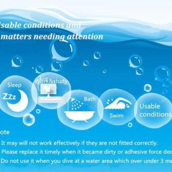 Good Soft Water Swimming Swim Bath Silicone Ear Plugs Noise Reducing - intl