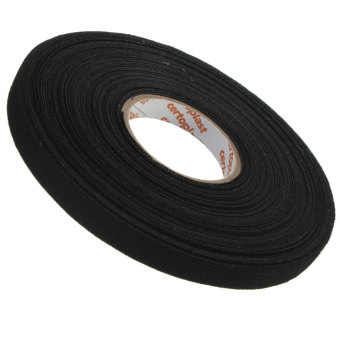 Harga 9mm x 25m, Adhesive Cloth Fabric Tape cable looms,wiring
