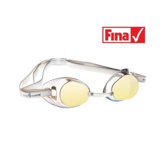 Harga MadWave FINA Approved Racing Racer SW Mirror Yellow