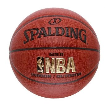 Harga Spalding NBA Gold Indoor/Outdoor Basketball Size 7