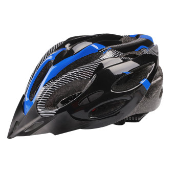 Harga Cycling Helmet Adjustable Road Mountain Safety Unisex Shockproof Visor - intl