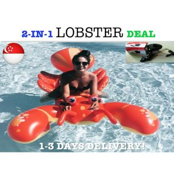 Harga *PACKAGE DEAL*Lobster Float Swimming Float Giant Float