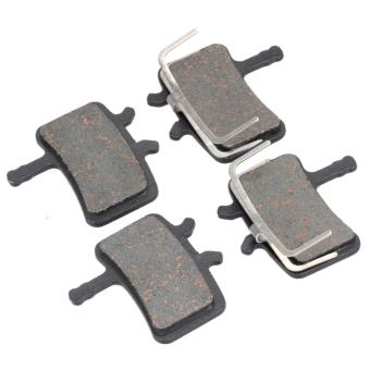 Harga 2 Pairs MTB bicycle disc brake pads for Avid BB7 Hydraulic And Avid juicy3/57 - intl