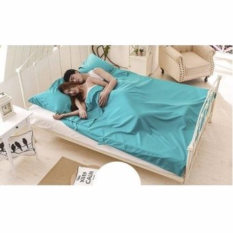 Harga Portable Sleeping Bag-Mint (King 180cm)