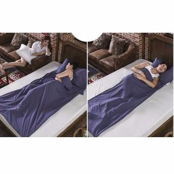 Harga Portable Sleeping Bag-Navy (King 180cm)