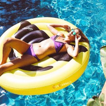 Giant Inflatable Swimming Float (Emoji)