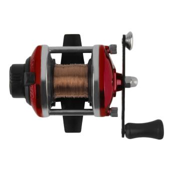 OH Right Handed Reel Round Baitcasting Fishing Reel Saltwater Fishing Reel Red