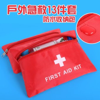 Harga Outdoor Survival car with emergency bag First Aid bag