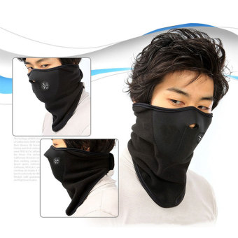 Harga Outdoor Sports Cyling Ski Motocycle Cover Neck Half Face Headwear Mask - intl