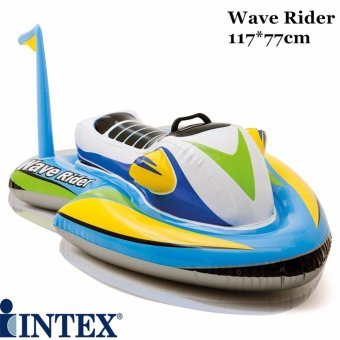 Harga INTEX Wave Rider Ride-on 117*77cm Pump option to choose Swim Toys Float