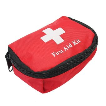 Harga BU Portable Outdoor Camping Hiking Travelling Emergency Medical Bag First Aid Kit - intl