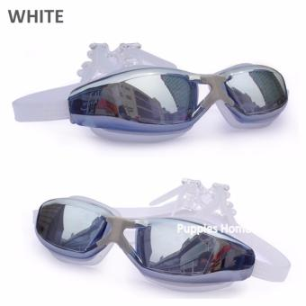 Harga Anti-Fog No Leak Swim Goggles Unisex Kid UV Protection Comfortable Fit Adults Free Protection case