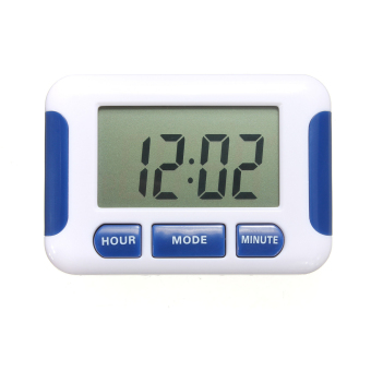 Harga Orologio Sveglia 5 Groups Noisy Bell 12/24 Hours Countdown Multi Kitchen Timer Blue