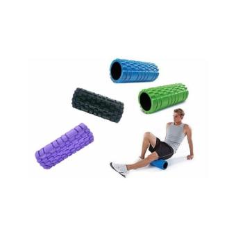 Harga EVA Exercise Foam Roller (Purple)