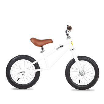 Harga Bailey Happy Bikes 12 Inch Balance Bike (White)